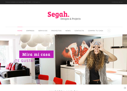 Segah - Website Corporativo