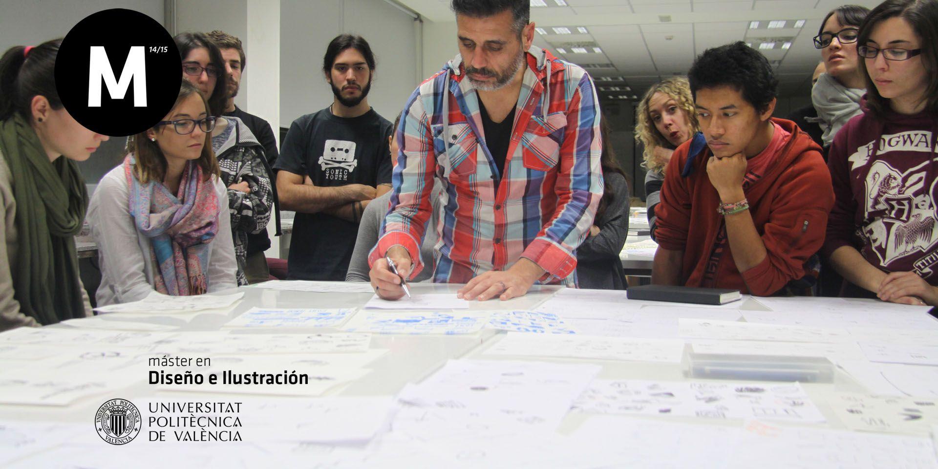 Seminario de Identidad Visual en el Máster de Diseño e Ilustración de la UPV