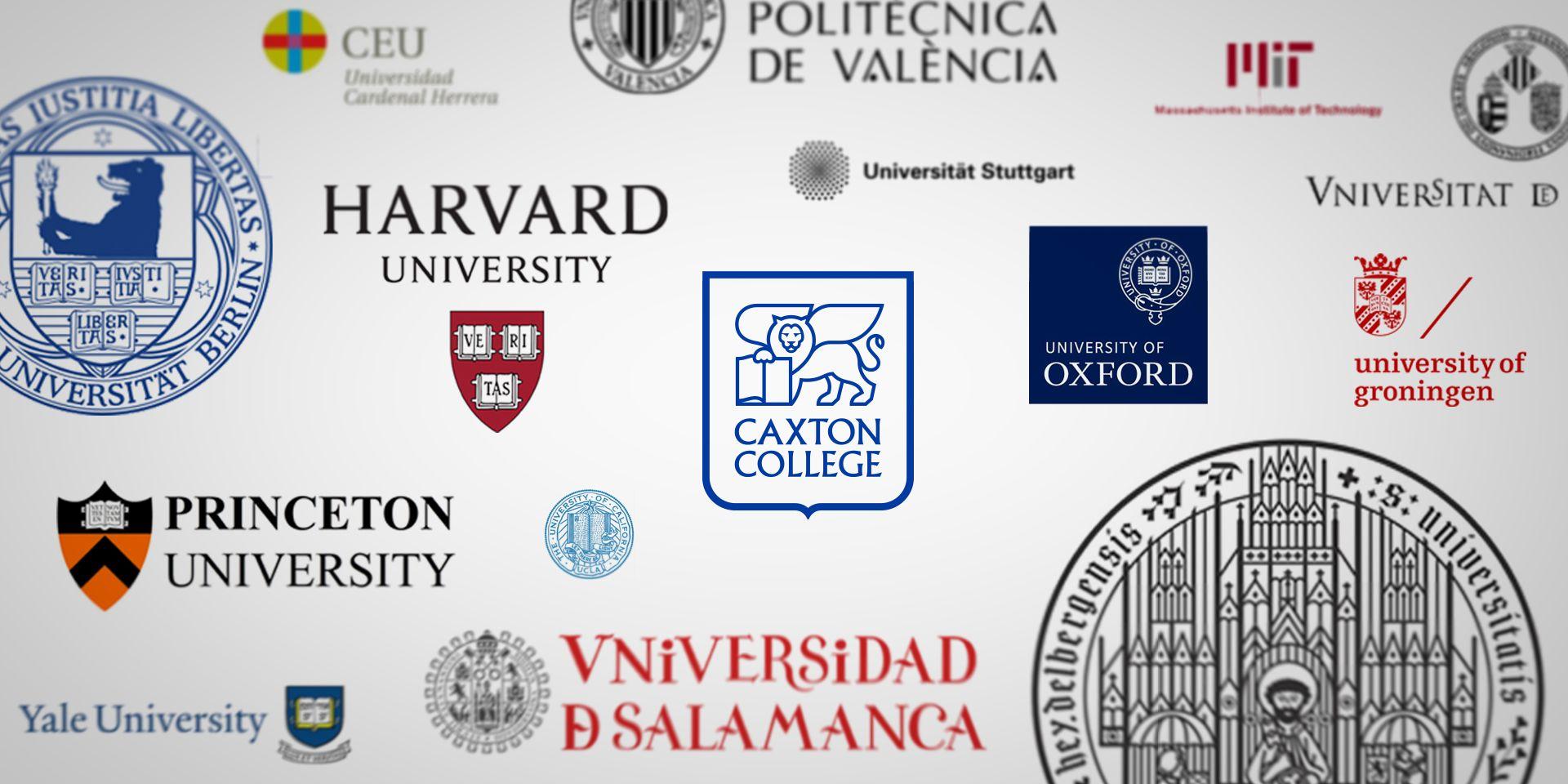El logotipo de colegios y universidades