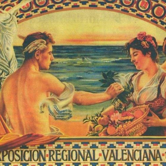 Los pioneros del diseño de carteles en Valencia
