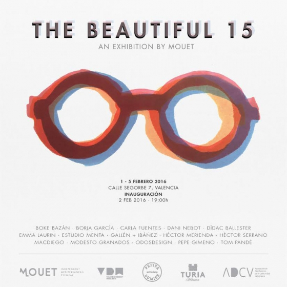 "Nociones Unidas en la exposición ""The beautiful 15"" de MOUET"