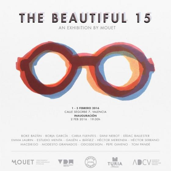 """Nociones Unidas en la exposición """"The beautiful 15"""" de MOUET"""