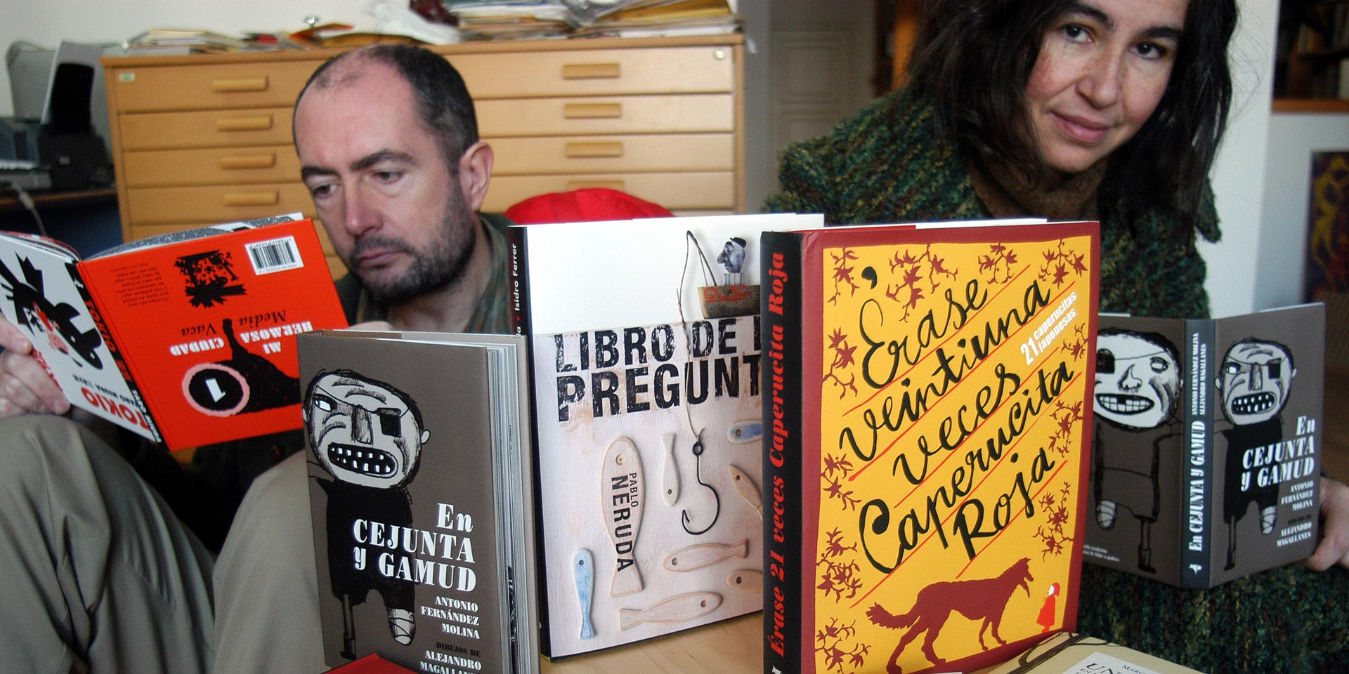 Conversación con Vicente Ferrer, fundador de la editorial Media Vaca.