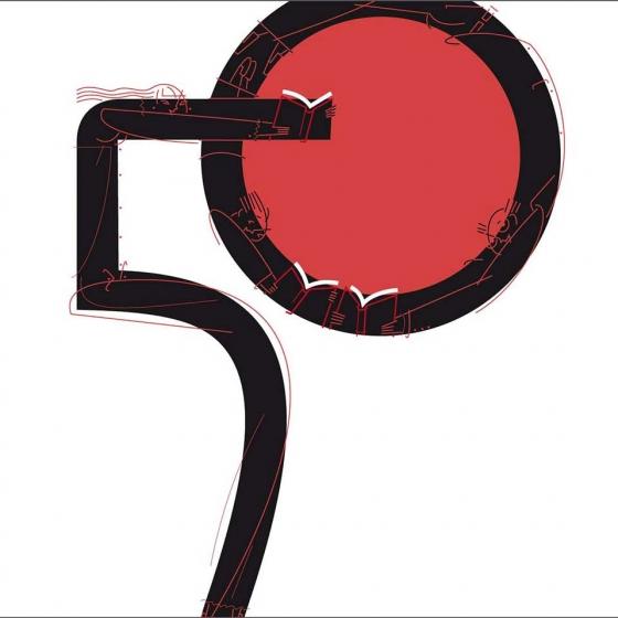 """Nuestro cartel de la 42 edición en la expo """"Fires del Llibre"""""""