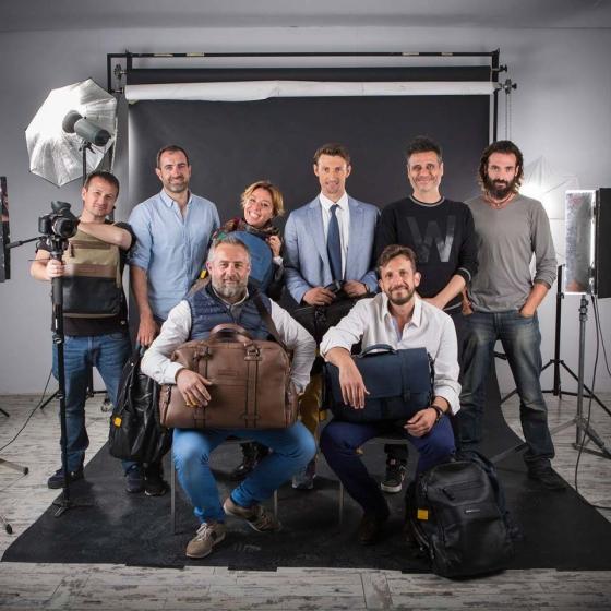 Sesión con Juan Carlos Ferrero para la campaña de marketing digital de Markus Olsen