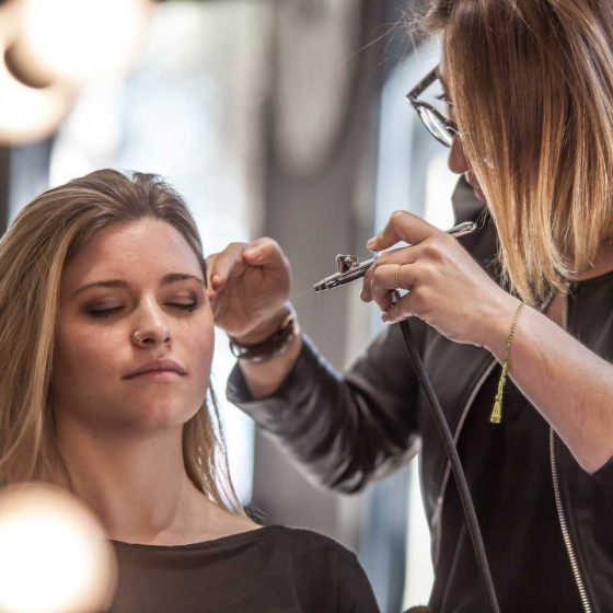 Spot para Celeste Capafons Airbrush Make Up
