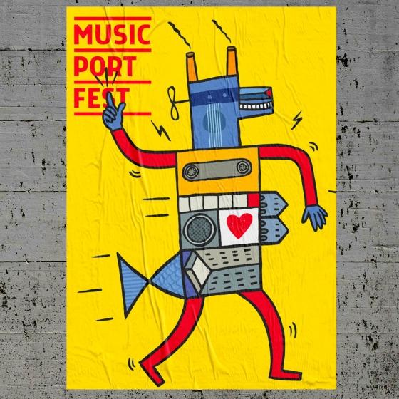 ¿Aún no has visto el cartel del Music Port Fest?