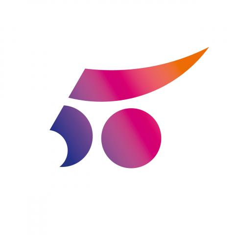 Logotipo UPV 50 anys