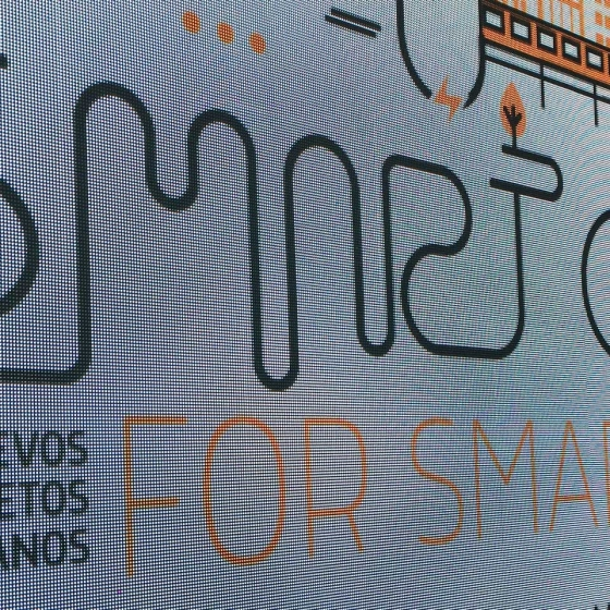 Diseño de la Imagen para el I congreso Internacional Smart Cities for Smart Citizens