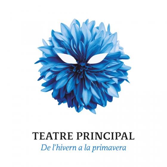 Diseño de imagen para el segundo cuatrimestre de la programación del Teatre Principal