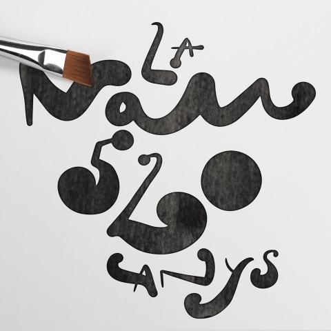 Diseño del logo para el 20 aniversario de la Nau y los 520 años de la Universitat de València