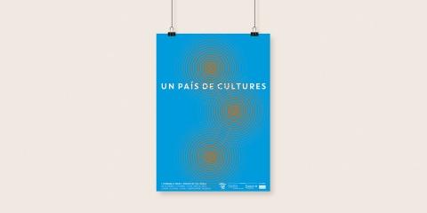 "Diseño de la imagen ""Un País de Cultures"""