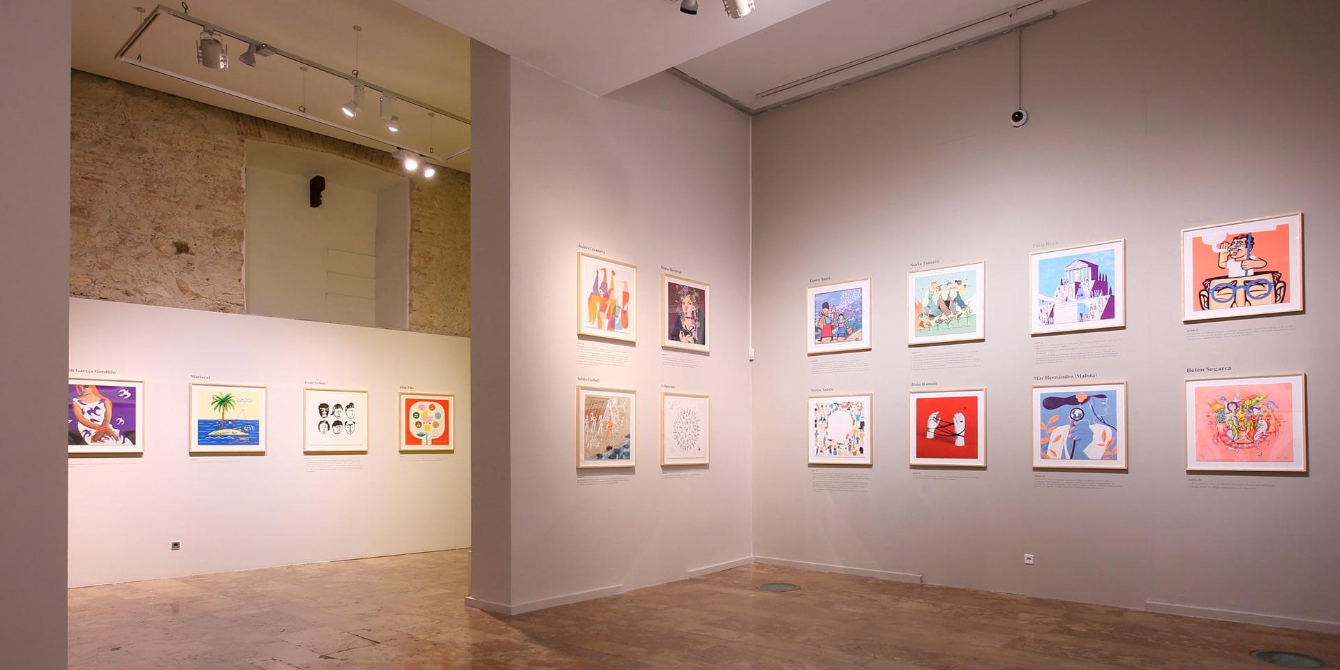 Exposición Creadores Valencianos por los Derechos Humanos