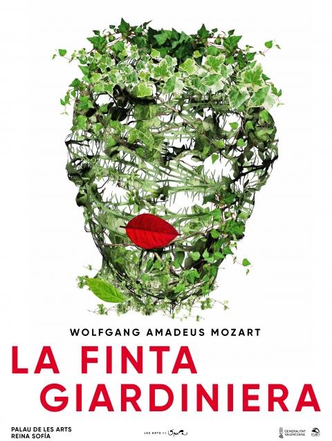 Diseño del cartel de la ópera La Finta Giardiniera