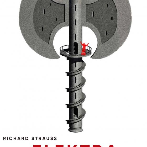 Diseño para Elektra, Richard Strauss (Nociones Unidas)