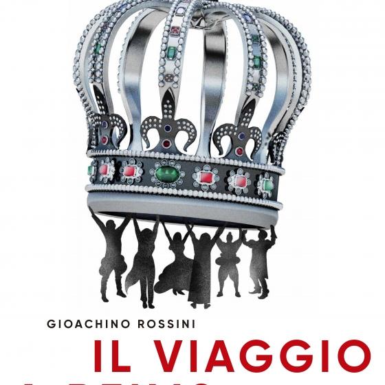 Diseño para Il Viaggio a Reims, de Rossini
