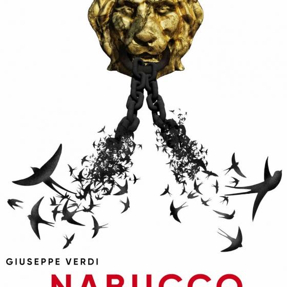 Diseño gráfico para Nabucco, de Verdi