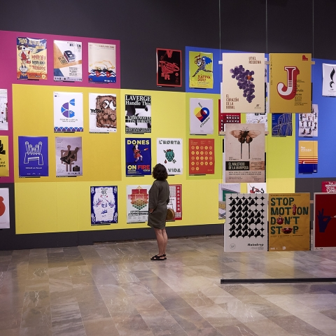 "Exposición ""Prohibit Fixar Cartells. REA"""