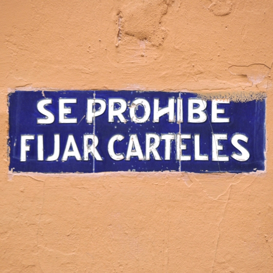 El Cartel contra la pared. II