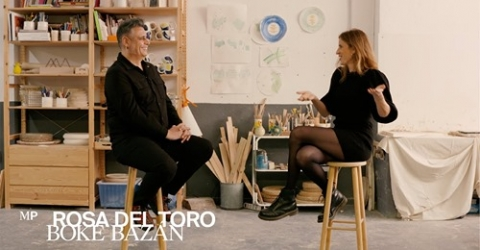 Rosa Deltoro y Boke Bazán. Conversación, diseño e ilustración.